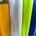 PVC type Seamed Honeycomb prismatic reflective vinyl for outdoor printing