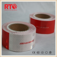Warning reflective tape for truck