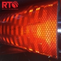 Prismatic reflective sheeting for Roadway safety sign