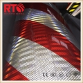 High intensity prismatic reflective hazard tape