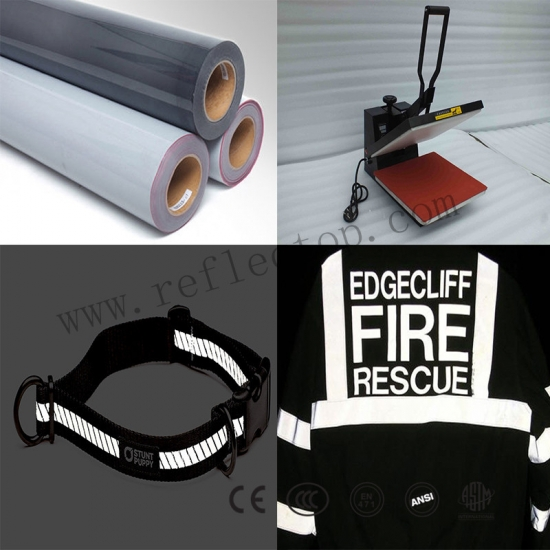 Wholesale Silver Visibility Reflective Heat Transfer,Hot