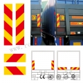 Heavy Vehicle Rear Reflective Marking Plate