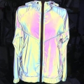 Colorful Rainbow Softness Reflective Fabric